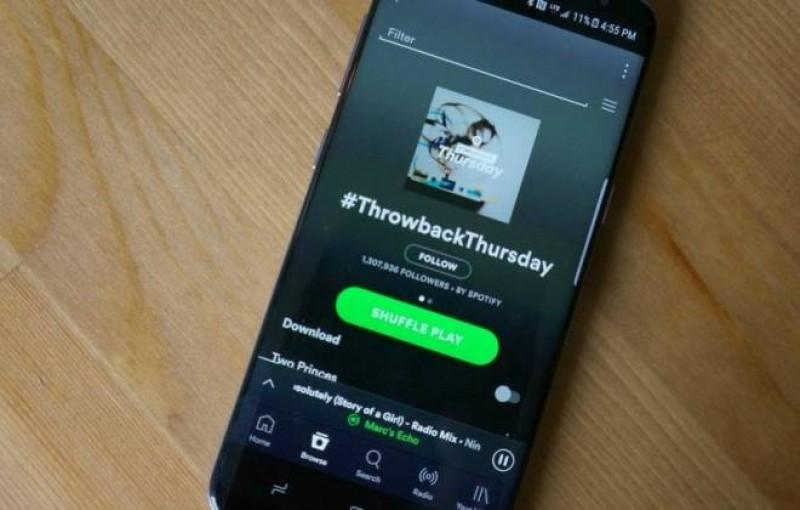 Voz dentro do Spotify